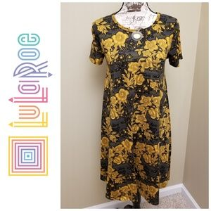 *Like new* LuLaRoe Carly high low swing dress